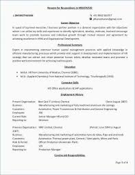 Example Resume Cover Letter Inspirational For Resumes