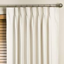 Blackout Curtains For Traverse Rods by How Hang Pinch Pleated Curtains