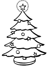 Christmas Tree Coloring Page Print Out by Coloring Pages Christmas Tree Printable Christmas Coloring Pages