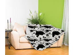flauschige kunstpelz decke kuhfell 200 x 150 cm