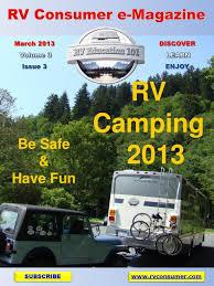 Rv Consumer Magazine March 2013 By Education 101 Issuu
