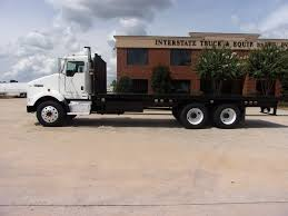 USED 2005 KENWORTH T800 FLATBED TRUCK FOR SALE IN GA #1797
