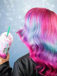 The New Starbucks Unicorn Frappuccino Has Caused A Stir In Hair World