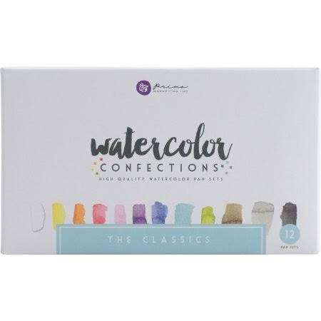 Prima Marketing Watercolor Confections Watercolor Pans