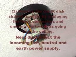 Encon Ceiling Fan Remote by How To Change A Westinghouse Ceiling Fan Ir Remote Youtube