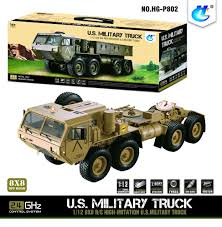 1/12 8*8 RC US Military Truck Model Metal Chassis Car Motor ESC ...