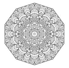Best Solutions Of Printable Mandala Coloring Hard With Additional Letter