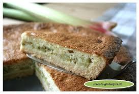 rhabarber schmand kuchen tanja s glutenfreies kochbuch