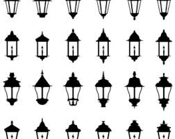 Vintage Victorian Steampunk Gas Street Lamps
