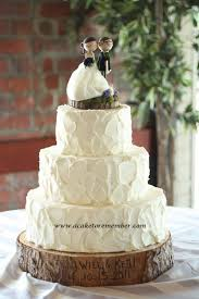 Wedding Cake A To Remember Va Rustic Cakes Need No Board For Boards