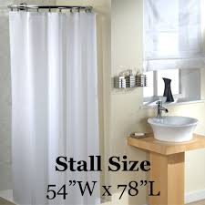 stall shower curtains shop for and buy shower liners