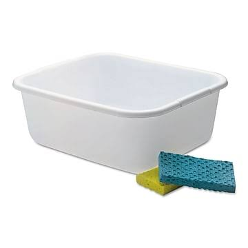 Rubbermaid Dish Pan - White