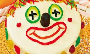 lustiges clowngesicht für kinder