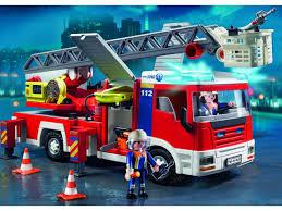 100 Playmobil Fire Truck PLAYMOBIL 4820 Camion De Pompiers Grande Chelle Kids Gifts