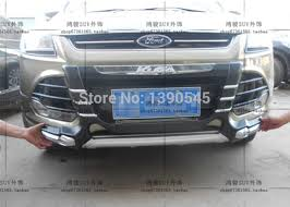 Free ship 2012 2014 Kuga SUV car Front Rear bumper protector