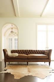 Broyhill Laramie Microfiber Sofa In Distressed Brown by Lancaster Leather Sofa Restoration Hardware Hmmi Us