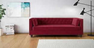 Wood Flooring For Walls Sofas Sectionals Dark Red Fabric Sofa Rectangle White Jute Rug Double Black