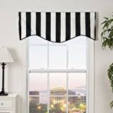 Yellow And White Striped Curtains by Amazon Com Striped Draperies U0026 Curtains Window Treatments