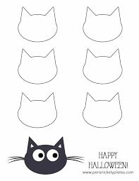 Pumpkin Carving Cat Face Template by 100 Halloween Black Cat Silhouette Pattern 33 367 Cat