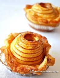 panier feuilleté de pommes au four recettes by hanane
