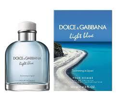 Light Blue Swimming in Lipari 4 2 Oz Eau De Toilette Spray for Men