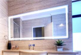 wall mirrors image of large lighted bathroom wall mirror lighted