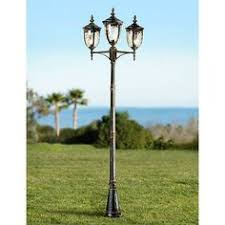 bellagio collection 24 1 2 high black outdoor post light style