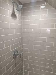 taupe subway tile amandarappdesign bathrooms