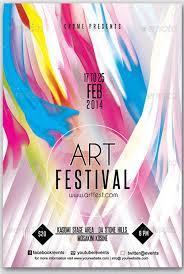 Art Festival Flyer Via Show Template