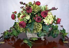Floral Centerpieces For Dining Table Design Of Silk Beautiful Christmas