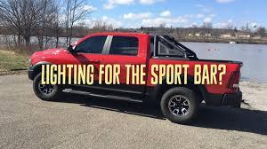 Lighting For The New Ram Rebel Sport Bar? - YouTube