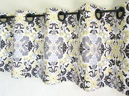 Yellow And Grey Bathroom Window Curtains by Awesome Gray And Yellow Window Curtains U2013 Muarju
