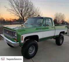 100 70s Chevy Trucks Beautiful K10 4x4 From Hayesclassics C10 Chevy