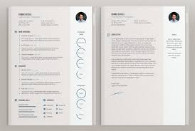 Adobe Resume Template 50 Beautiful Free Cv Templates In Ai Indesign Psd Formats Download