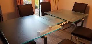glastisch ausziehbar kaufen auf ricardo