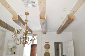 100 Beams In Ceiling DIY Faux Wood