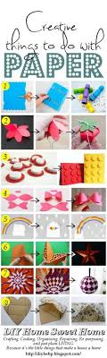 Diy Home Sweet Creative Things To Make From Paper