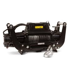 Champion Power Equipment Truck/SUV Synthetic Rope Winch Kit With ... How To Choose The Best Winch For Your Pickup 201517 Gmc 23500 Signature Series Heavy Duty Base Front Westin Hdx Mount Grille Guards Truck Winchit W 13500lb Electric Recovery Ramsey Patriot 12 Volt Dc Powered With The Full Line Of Warn Jeep And Suv Winches Youtube Winches Flatbed Trailers Find An Trailer Or Superwinch 100lb Vehicle Guys Tractor Blog Texas Works