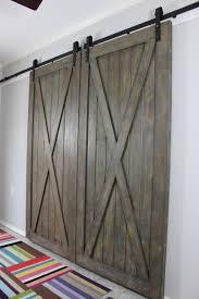Cross Buck Barn Doors. Each Door Is 40