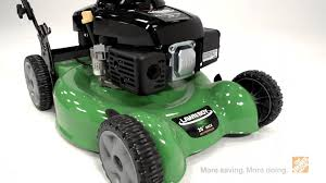 Lawn Boy 20 in Self Propelled Walk Behind Mower The Home Depot