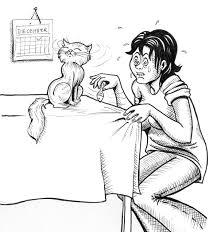 cat wont eat the cat won t eat sardines by izar on deviantart