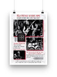 Event Poster Design For Held Hostage Band 315 Designs