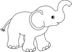 Image result for black and white baby clipart images