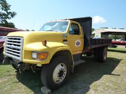 100 5 Ton Dump Truck Lot 199 Ford F70 Flat Bed W Bed Proxibid Auctions