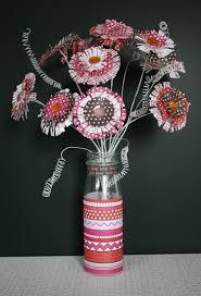 Paper Crafts For Kids How To Make Fringe Flowers