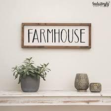 vintage farmhouse schild 60x20cm farmhouse landhaus deko