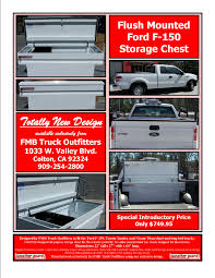 100 Valley Truck Outfitters Ford F150 All Purpose Storage Chest