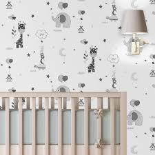 papier peint chambre b b mixte enfants 4murs