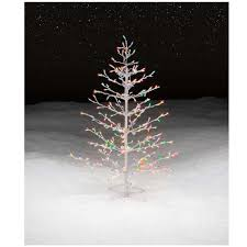 75 Foot Christmas Tree by Multicolor Lighted Stick Christmas Tree Get It At Kmart