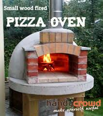 Build Small Wood Fired Pizza Oven 75cm Or 30